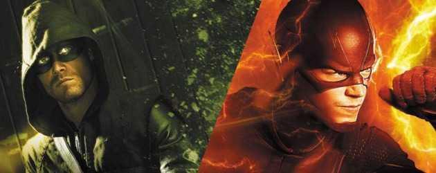 The Flash ve Supergirl, Arrow'un önünde mi?