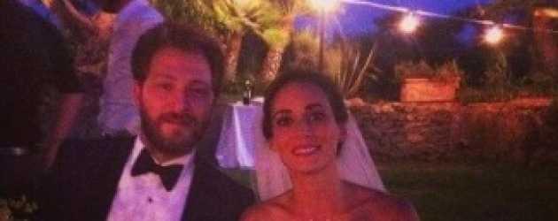 Ünlü oyuncu çift İtalya'da evlendi!