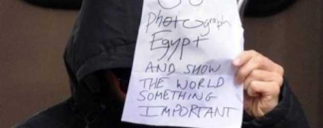 Sherlock'un yıldızından Mısır Protestosu!