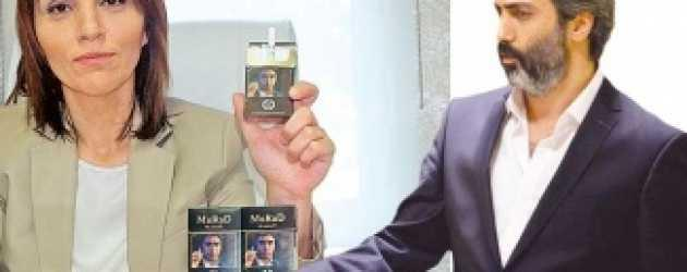 Şaka değil gerçek! Polat Alemdar sigara markası oldu!