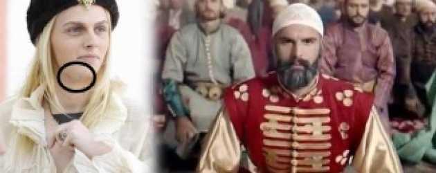 Fatih dizisi için gelen ünlü model attan düştü!
