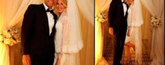 Derin Mermerci evlendi! Düğünden ilk kare!