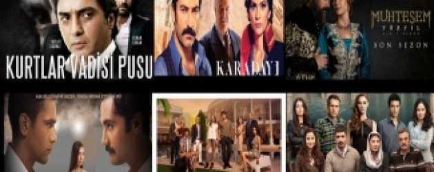 2013'ün basında en çok konuşulan dizi ve oyuncuları belli oldu!