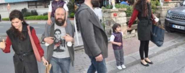 Bergüzar Korel ve Halit Ergenç'den sürpriz parti!