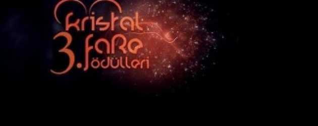 3. Kristal Fare Ödülleri adayları duyuruldu!