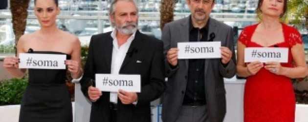 Demet Akbağ ve Haluk Bilginer'den Soma'ya saygı!