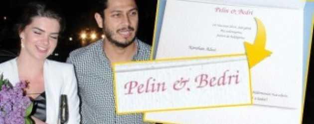 Pelin Karahan'ın düğün davetiyesi de ortaya çıktı!