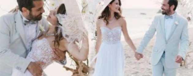 Yılın düğününden hiç görmediğiniz kareler!
