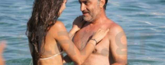 Nur Fettahoğlu ve eşi Yunan paparazzilerine fena yakalandı!
