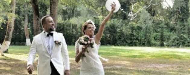 Ünlü oyuncu evlendi! Düğünden ilk fotoğraflar!