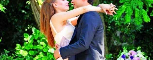 Serenay ve Çağatay'ın reyting öpücüğü!