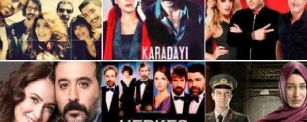 Televizyonda günün dizileri (01 Aralık 2014)