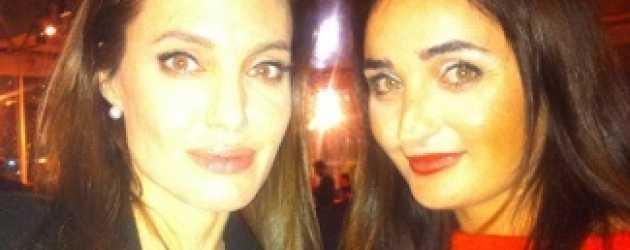 Fadik Sevin Atasoy ve Angelina Jolie bir arada!
