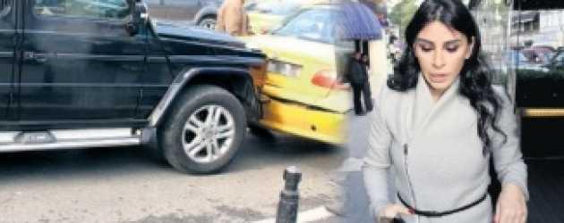 Engin Altan Düzyatan'ın eşi kaza yaptı!