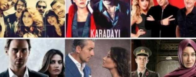 Televizyonda günün dizileri (05 Ocak Pazartesi)