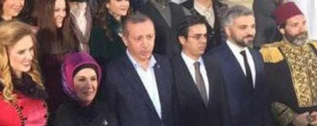 Cumhurbaşkanı Erdoğan Filinta'nın setini ziyaret etti