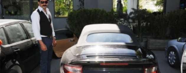 Gayrimenkul zengini oyuncu ikinci el Porsche aldı!