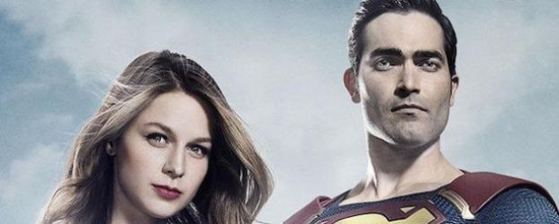 Supergirl'den Superman'li ilk görsel geldi!