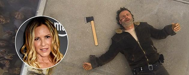 Maria Bello The Walking Dead 8. sezonda!