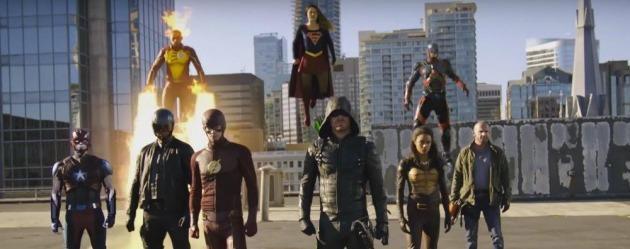 Supergirl, The Flash, Arrow ve Legends of Tomorrow buluşmasından yeni fragman!