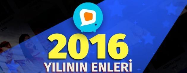 2016'da diziler.com'un en çok aranan ve ziyaret edilenleri