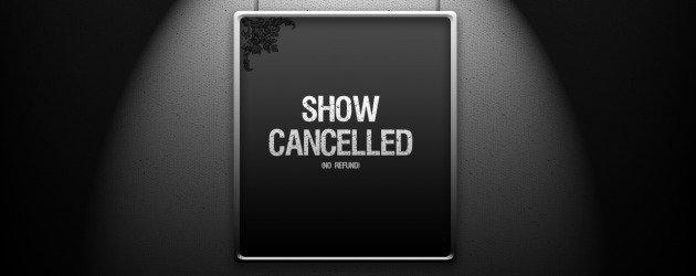 Tek bir bölüm yayınlandıktan sonra iptal edilen diziler