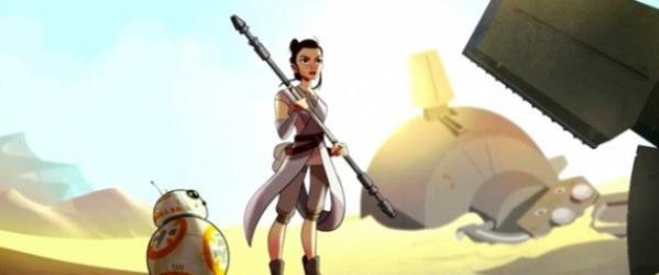 Star Wars yeni bir animasyon ile ekranlara dönüyor!