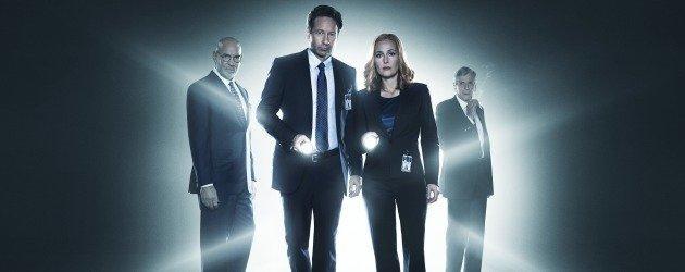 X-Files kadrosu yeni bir proje için bir arada!