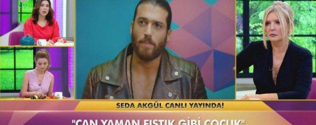 Loris Karius'u öpmek istediğini söyleyen Seda Akgül'ün yeni hedefi Can Yaman oldu!