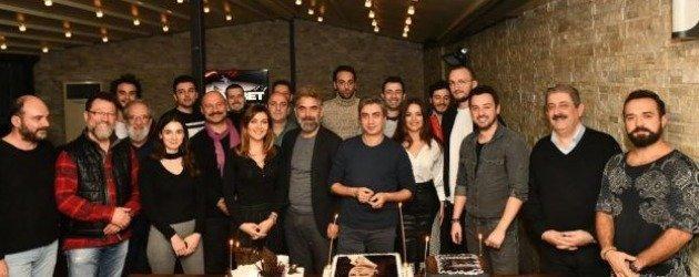 Necati Şaşmaz Nöbet dizisi ekibi ile doğum gününü kutladı!