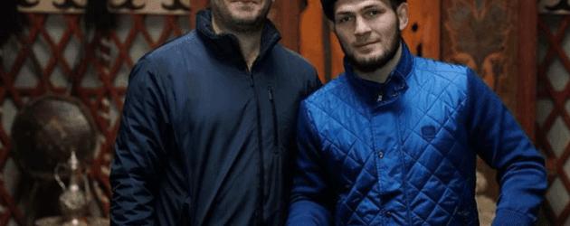 Dünyaca ünlü boksör Habib Nurmagomedov Diriliş Ertuğrul setini ziyaret etti!