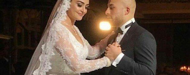 Diriliş Ertuğrul'un Halime hatunu Esra Bilgiç'ten eşine romantik kutlama!