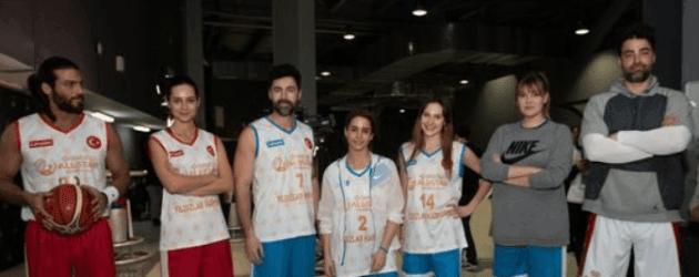 Sarp Levendoğlu, Can Yaman ve Alina Boz basketbol sahasında kapıştı!