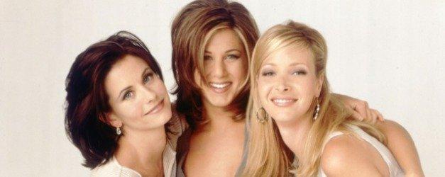 Friends dizisinin unutulmaz karakterleri Monica, Phoebe ve Rachel aynı karede!