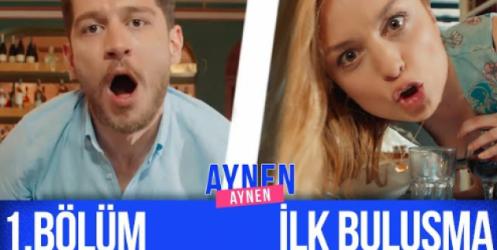 Uraz Kaygılaroğlu ve Nilperi Şahinkaya'nın yeni dizisi Aynen Aynen'in ilk bölümü yayınlandı!