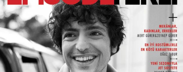 Mucize Doktor'un Ali'si Taner Ölmez dergi kapağı oldu!
