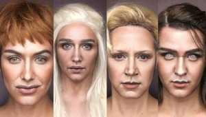 Game Of Thrones oyuncularını hiç böyle görmediniz!