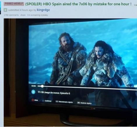 Game of Thrones 7. sezon 6. bölüm sızdırıldı!