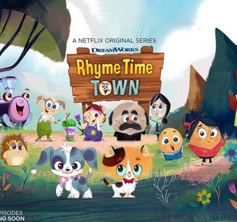 Rhyme Time Town 2. sezon Netflix'te başladı!