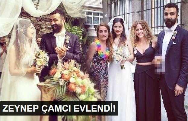 Zeynep Çamcı evlendi!