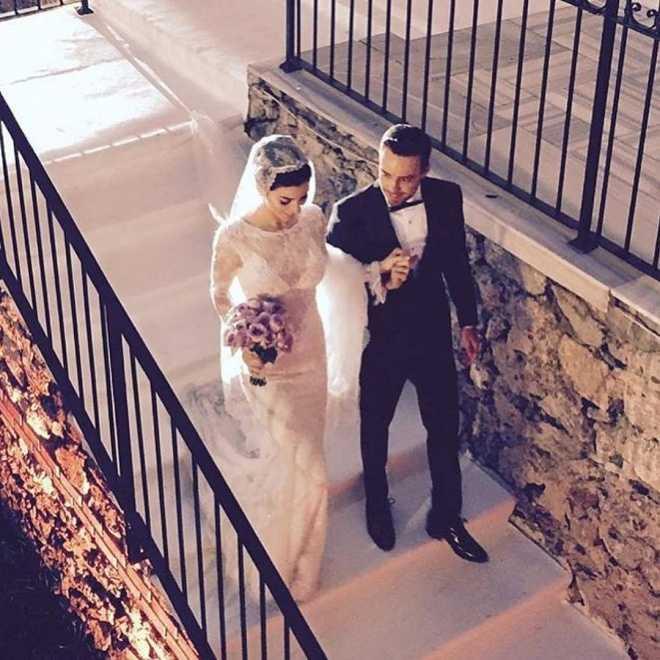Merve Boluğur Murat Dalkılıç düğününden kareler