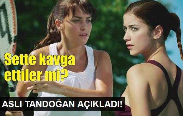 Aslı Tandoğandan kavga açıklaması!