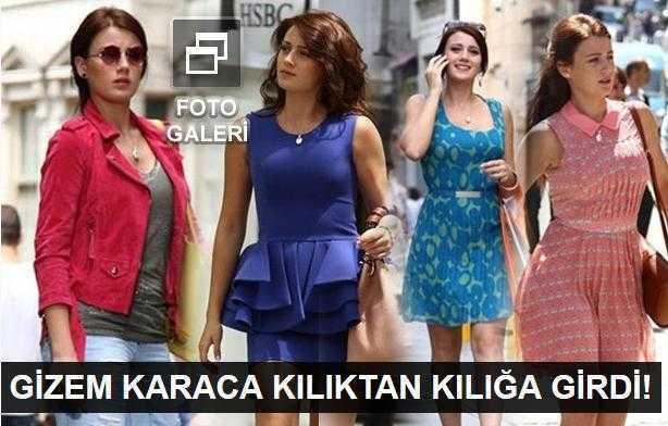Gizem Karacanın yeni hali şok etti!
