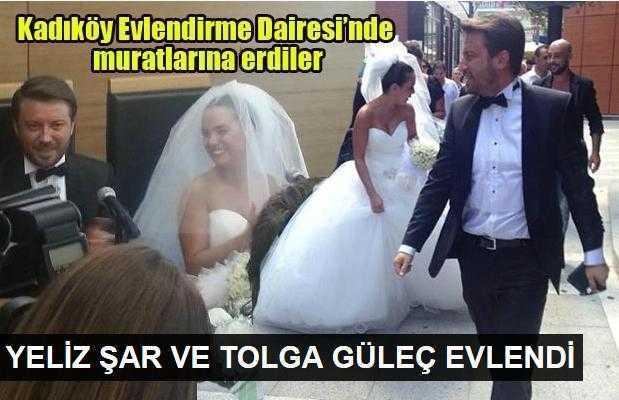 Yeliz Şar ve Tolga Güleç evlendi!