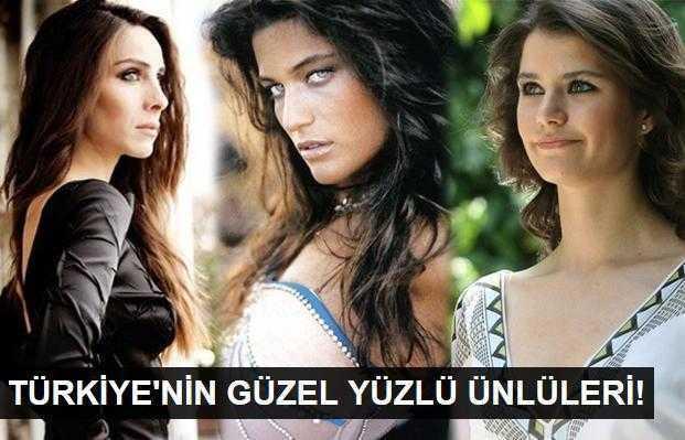 Türkiyenin en güzel yüzlü ünlüleri!
