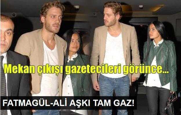 Fatmagül Fakı ve Ali Yörenç aşkı sürüyor!
