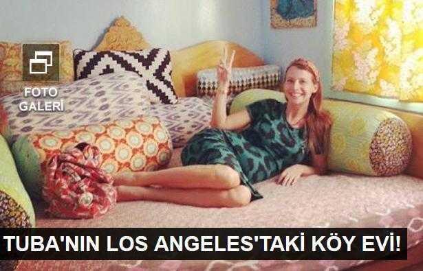 Tuba Ünsalın Los Angelestaki yeni evi!
