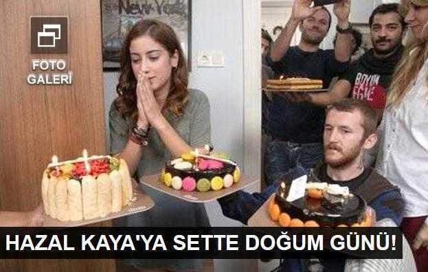 Hazal Kayaya doğum günü sürprizi!