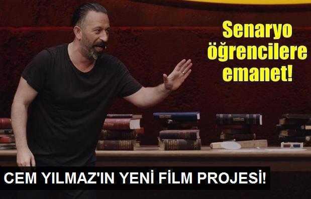 Cem Yılmazın yeni film projesi!