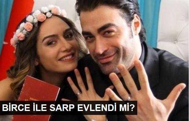 Birce Akalay ile Sarp Levendoğlu evlendi mi?